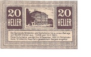 20 Heller (St. Vatentin) – avers