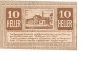10 Heller (St. Vatentin) – avers