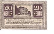 20 Heller (St. Vatentin) – revers