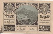 20 Heller (St. Veit an der Gölsen) – avers