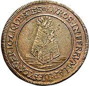 1 Gulden - Romanus – revers