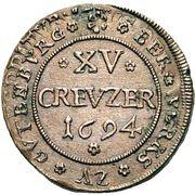 15 Kreuzer - Roman – avers