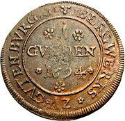 1 Gulden - Romanus – avers