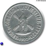 5 Centimes Union du Commerce et de l'Industrie - Sannois [95] – avers