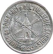 25 Centimes - Unions du commerce et de l'industrie - Sannois [95] – avers