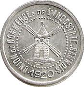 10 Centimes - Unions du commerce et de l'industrie - Sannois [95] – avers