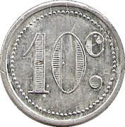 10 Centimes - Unions du commerce et de l'industrie - Sannois [95] – revers