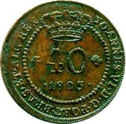40 Reis - D. João VI – avers