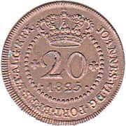 20 Réis - João VI (Lisboa mint) – avers