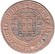 20 Réis - João VI (Lisboa mint) – revers