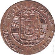20 Réis - João VI (Bahia mint) – revers