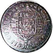 80 Reis - Joao VI (Bahia mint) – revers