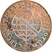 "XL Réis - Pedro V (Contremarque ""petite couronne"") – revers"