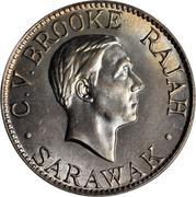 10 cents - Charles V. Brooke Rajah -  avers