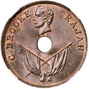 1 cent - Charles J. Brooke Rajah – avers