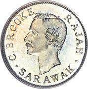 10 cents - Charles J. Brooke Rajah – avers