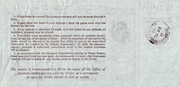 6 Pence - Postal Order - Colony of Sarawak ( 1946 - 63) – revers