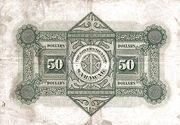 50 Dollars – revers