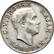 10 cents - Charles V. Brooke Rajah – avers