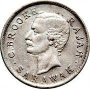 5 cents - Charles J. Brooke Rajah – avers