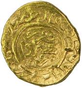 1/2 Mithqal - temp. 'Ali Mu'ayyad - 1362-1384 AD – revers