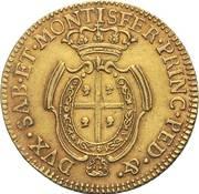 2 ½ doppiette - Carlo Emanuele III – revers