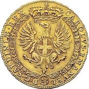 4 zecchini - Carlo Emanuele III – avers