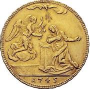 4 zecchini - Carlo Emanuele III – revers