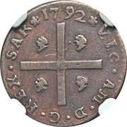 1 cagliarese Vittorio Amedeo III – avers