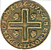 3 cagliaresi Vittorio Amedeo II – revers