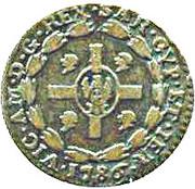 1 Soldo - Vittorio Amedeo III – avers
