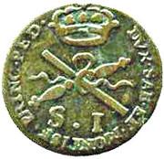 1 Soldo - Vittorio Amedeo III – revers