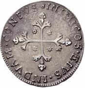 10 reali Carlo II – revers