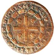 1 Soldo - Carlo Emanuele III – avers