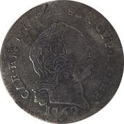 ½ reale Carlo Emanuele III – avers