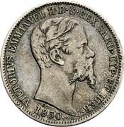 2 lire - Victor-Emmanuel II – avers