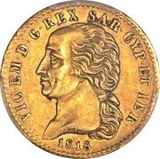 20 lire - Victor-Emmanuel I – avers