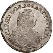 Scudo - Carlo Emanuele III – avers