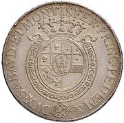 ½ Scudo - Vittorio Emanuele I – revers