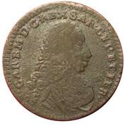 2.6 Soldi - Charles Emmanuel III – avers