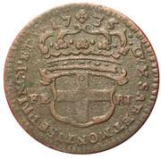 2.6 Soldi - Charles Emmanuel III – revers