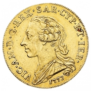 5 Doppiette - Vittorio Amedeo III – avers
