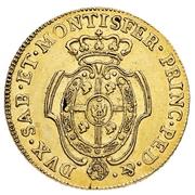 5 Doppiette - Vittorio Amedeo III – revers