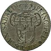 10 Soldi - Victorio Amedeo III – revers