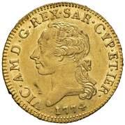 1 Doppia - Vittorio Amedeo III – avers