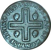 3 cagliarese - Charles-Emmanuel III -  revers