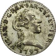 1/2 Reale - Vittorio Amedeo III – avers
