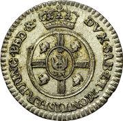 1/2 Reale - Vittorio Amedeo III – revers