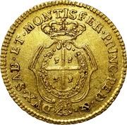 ½ Doppia - Carlo Emanuele III – revers