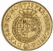 1 doppia Carlo Emanuele III – revers